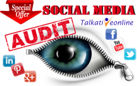 Buy one Social Media Audit and get the second FREE (worth £50.00)!